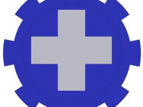 Zug-Symbol Lazarett 5th Division