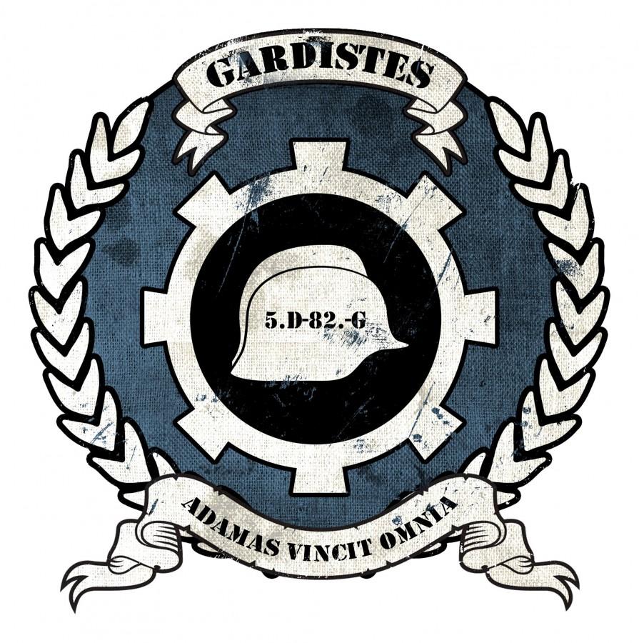 Zug-Symbol Garde